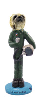 Pekingese U.S. Air Force Doogie Collectable Figurine