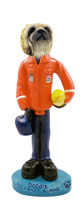 Pekingese U.S. Coast Guard Doogie Collectable Figurine