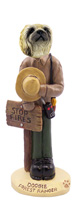Pekingese Forest Ranger Doogie Collectable Figurine