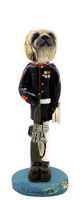 Pekingese U.S. Marines Doogie Collectable Figurine