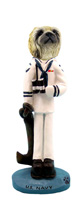 Pekingese U.S. Navy Doogie Collectable Figurine