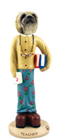 Pekingese Teacher (female) Doogie Collectable Figurine