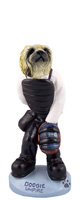 Pekingese Umpire Doogie Collectable Figurine