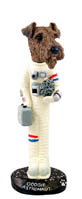 Airedale Astronaut Doogie Collectable Figurine
