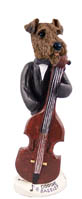 Airedale Bassist Doogie Collectable Figurine