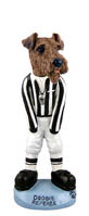 Airedale Referee Doogie Collectable Figurine
