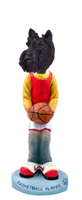 Scottish Terrier Basketball Doogie Collectable Figurine