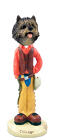 Cairn Terrier Brindle Cowboy Doogie Collectable Figurine
