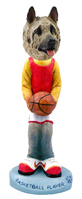 Akita Fawn Basketball Doogie Collectable Figurine