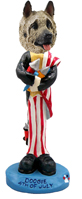 Akita Fawn 4th of July Doogie Collectable Figurine
