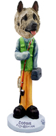 Akita Fawn Fisherman Doogie Collectable Figurine