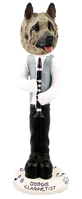 Akita Fawn Clarinetist Doogie Collectable Figurine