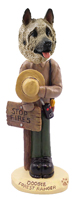 Akita Fawn Forest Ranger Doogie Collectable Figurine
