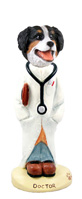 Bernese Mountain Dog Doctor Doogie Collectable Figurine