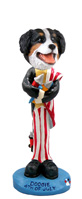 Bernese Mountain Dog 4th of July Doogie Collectable Figurine