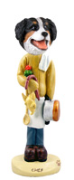 Bernese Mountain Dog Chef Doogie Collectable Figurine