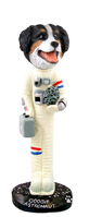 Bernese Mountain Dog Astronaut Doogie Collectable Figurine
