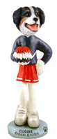 Bernese Mountain Dog Cheerleader Doogie Collectable Figurine