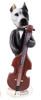 Pit Bull White Bassist Doogie Collectable Figurine