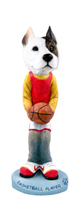 Pit Bull Terrier Basketball Doogie Collectable Figurine