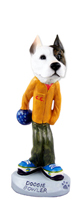 Pit Bull Terrier Bowler Doogie Collectable Figurine