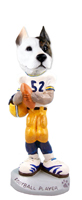 Pit Bull Terrier Football Player Doogie Collectable Figurine