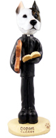 Pit Bull Terrier Clergy Doogie Collectable Figurine