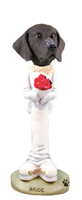 German Short Haired Pointer Bride Doogie Collectable Figurine