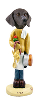 German Short Haired Pointer Chef Doogie Collectable Figurine