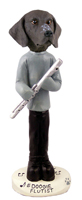 German Short Haired Pointer Flutist Doogie Collectable Figurine