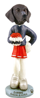 German Short Haired Pointer Cheerleader Doogie Collectable Figurine