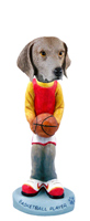 Weimaraner Basketball Doogie Collectable Figurine