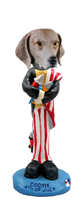 Weimaraner 4th of July Doogie Collectable Figurine