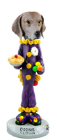 Weimaraner Clown Doogie Collectable Figurine