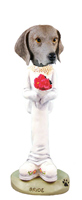 Weimaraner Bride Doogie Collectable Figurine