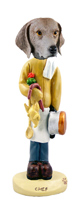 Weimaraner Chef Doogie Collectable Figurine