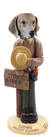 Weimaraner Forest Ranger Doogie Collectable Figurine
