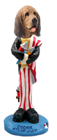 Bloodhound 4th of July Doogie Collectable Figurine