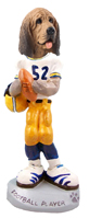 Bloodhound Football Player Doogie Collectable Figurine
