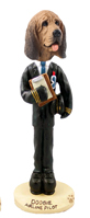 Bloodhound Airline Pilot Doogie Collectable Figurine