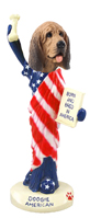 Bloodhound American Doogie Collectable Figurine