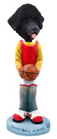 Portuguese Water Dog Basketball Doogie Collectable Figurine