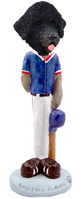 Portuguese Water Dog Baseball Doogie Collectable Figurine