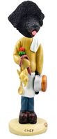 Portuguese Water Dog Chef Doogie Collectable Figurine