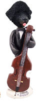 Portuguese Water Dog Bassist Doogie Collectable Figurine