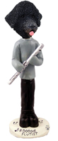 Portuguese Water Dog Flutist Doogie Collectable Figurine