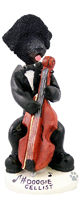 Portuguese Water Dog Cellist Doogie Collectable Figurine