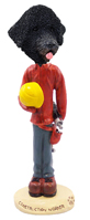 Portuguese Water Dog Construction Worker Doogie Collectable Figurine