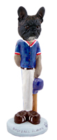 French Bulldog Baseball Doogie Collectable Figurine