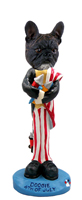 French Bulldog 4th of July Doogie Collectable Figurine